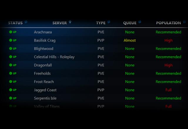TERA-US: Server Status Page added   Metropolis MMO Gaming