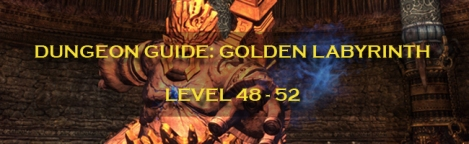 Dungeon Guide Label - Golden Labyrinth