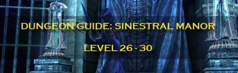 Dungeon Guide Label - Sinestral Manor
