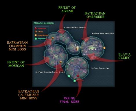 SB - Dungeon Guide - Drasilmarsh Map