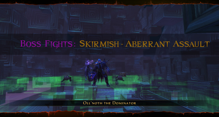 Neverwinter - Boss Fights - Oll Noth the Dominator